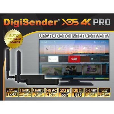 Digisender Xds 4K - Uhd Video Sender + Live Real Time Video Link
