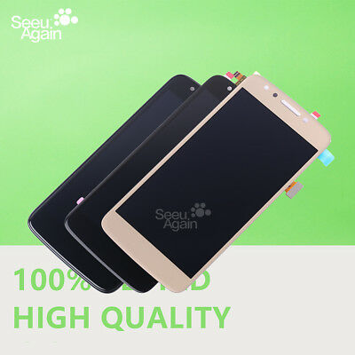For Motorola Moto E4 XT1765 XT1766 LCD Display Touch Screen Frame Replacement US