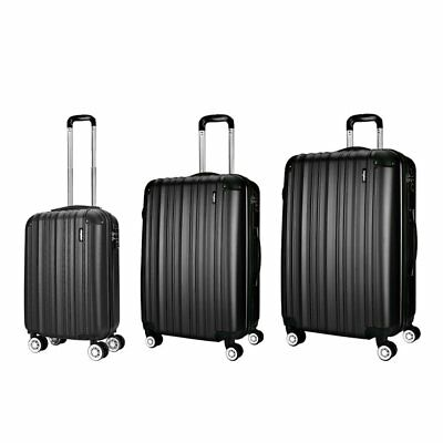 Extra Large Small Cabin Hard Side Travel Trolley Hand Luggage Suitcase Bag Case