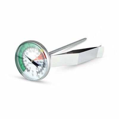 45mm Large Dial Milk Frothing / Coffee Thermometer - Easy to Read - 800-820