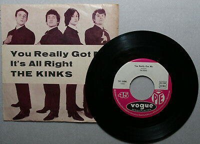 THE KINKS  You Really Got Me / It´s All Right