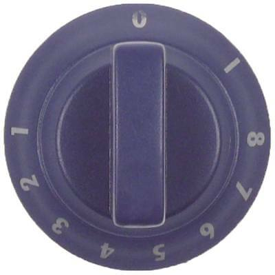 Electrolux Knob for Pasta Cookers 580512,591501,591511,582379 Ø 60mm Blue