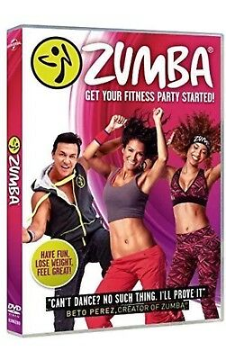 Zumba Dance Workout DVD Get Your Fitness Party Started Home New and Boxed NEW