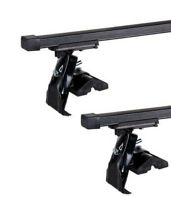 Peugeot 107 Hatchback 5D (05-16) Roof Bars D-1 130cm (Pair of)
