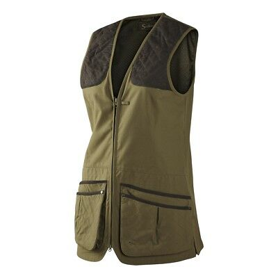 Seeland Winster Ladies Shooting Country Waistcoat In Duffel Green, New With Tag
