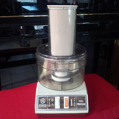 Robot Menager Food Processor General Electric Vintage Tbe Rare Made In The Usa