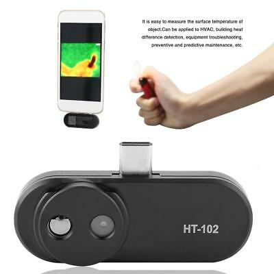 Hti HT-102 Mobile Phone Thermal Infrared Imager Support Video and Pictures Black