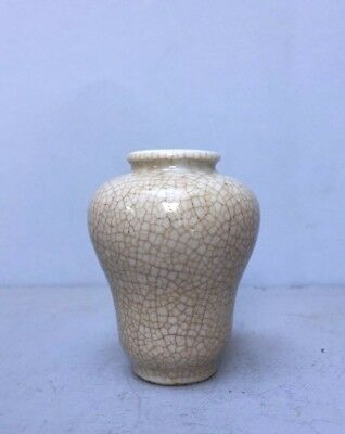 Unusual19th century porcelain snuff bottle or vase perfect condition