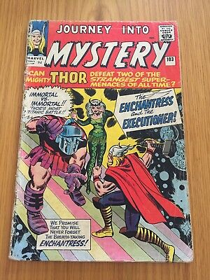 Journey into Mystery 103 1st app of The Enchantress