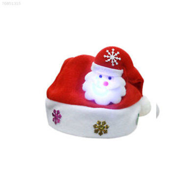 EFFC New Adult Tinsel Christmas Red Hat Fancy Dress Accessory Xmas Party Unisex
