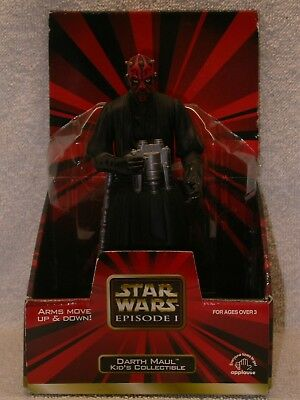 Star Wars, Episode I, Darth Maul, Kid's Collectible, Arms Move, Ages Over 3