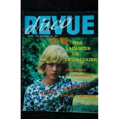 Disco Revue 28 N° 28    RARE  Aout 1964  SYLVIE JOHNNY CHUCK BERRY FRANCE GALL D