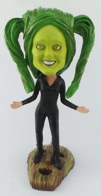 """The Mask"" Girl Promo Bobblehead on Loki Mask NEW RARE"