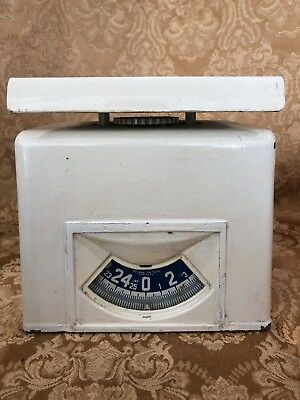 Vintage Antique DETECTO Kitchen Utility Scale - Maximum 25 Pounds, Brooklyn NY