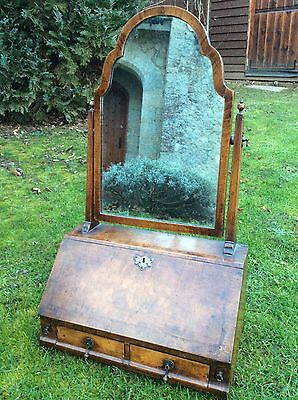 Very Attractive Late Victorian Early Edwardian Queen Anne Revival Toilet Mirror