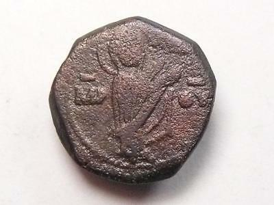Ancient Byzantine coin, Manual I, ca 1143-1189 AD, Virgin Mary. (c171961)