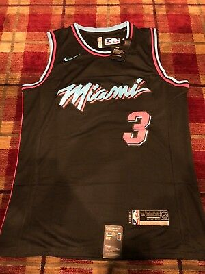 sale retailer 92366 ed2d6 DWYANE WADE #3 Miami Heat Black Limited Edition Jersey - NWT