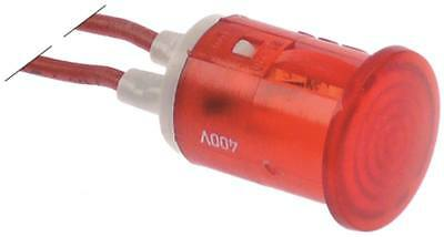 Signal Lamp Red Ø 16mm 400V Insulated Cable Silicone Cable 200mm