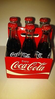 Coke Mini 6 Pack 6 Coca-Cola Bottles in Coca-Cola Carton  New Sealed Package