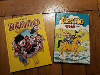 Beano Annuals 1976 and 2017
