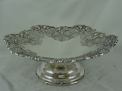 SUPER, solid silver CAKE STAND, 1934, 576gm