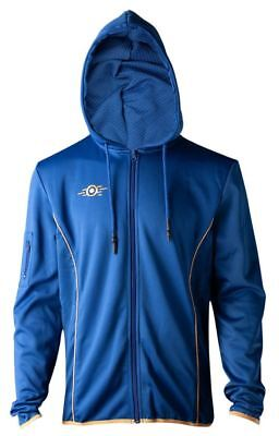Fallout 76 - Vault 76 Teq - Male Hoodie - Full Zipped - Small