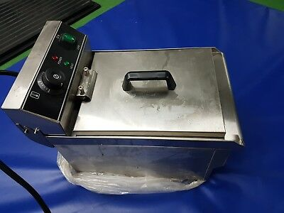PREMIER RANGE Electric FRYER Model: PRF-10V Commercial 10L 2.5KW 50-200°C