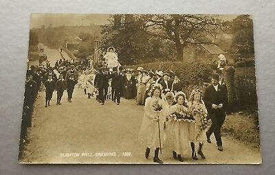 Rushden Well Dressing 1909.rp Postcard