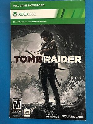 Tomb Raider (Microsoft Xbox 360, 2013) Full Game Digital Download New Free Ship
