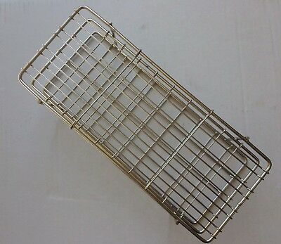 Stainless Steel Test Tube rack, 40 position,20 mm, Autoclavable Lab Rack