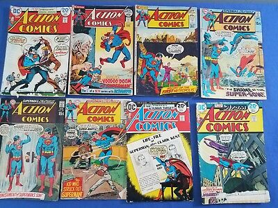 Silver Age DC Superman Action Comics Lot of 16