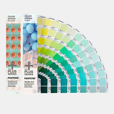 Pantone PANTONE GP6102N Plus Series Color Bridge Guide Set(incl. 112 new colors)