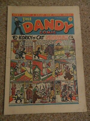 Dandy Comic #213 (1942) - May 2nd - VG-/VG Condition