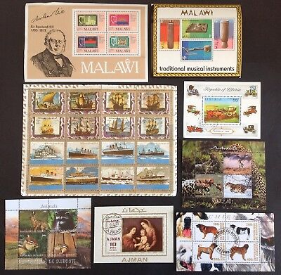 STAMPS - MIDDLE EAST Countries MVLH 445 stamps & 8 M/S