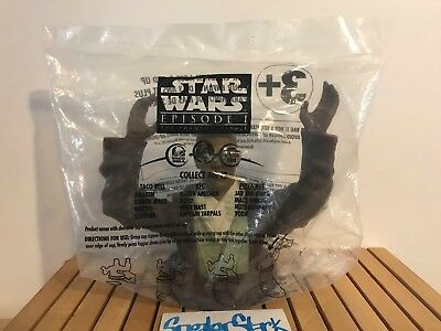 Star Wars Episode I Mace Windu Cup Topper KFC Taco Bell Pizza Hut Sealed New