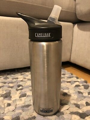 a7a7239c51 Camelbak Eddy Vacuum Insulated Stainless Steel 20oz Water Bottle Brand New