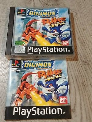 Digimon Rumble Arena Playstation 1 Ps1 Psone Ps2 Ps3