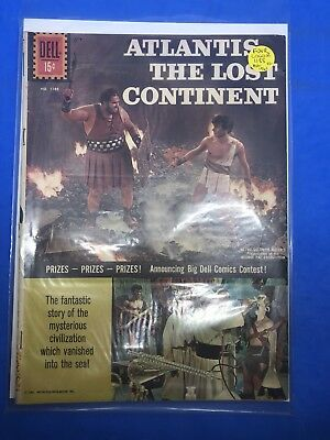 Atlantis the Lost Continent #1188 May, 1961 Dell Cover $0.15 Four Color