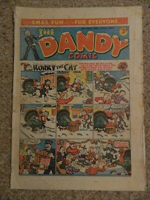Dandy Comic #308 (1945) - Dec 22nd - Christmas Issue ! - Good- Condition