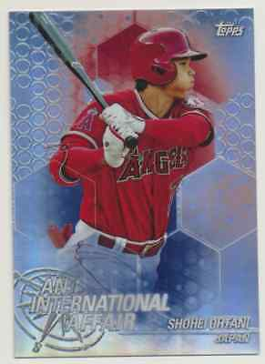 2018 Topps Chrome Update   Shohei Ohtani (RC) Los Angeles Angels
