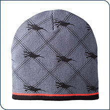 POLARIS Gray Dragon Pride Beanie Hat Cap - New With Tags- Great Gift!