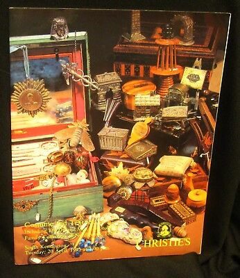 Vintage Catalog Needlework Costumes and Textiles Christies April 20, 1993