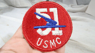 WWII USMC 51st Marine Corps Defense Battalion Patch