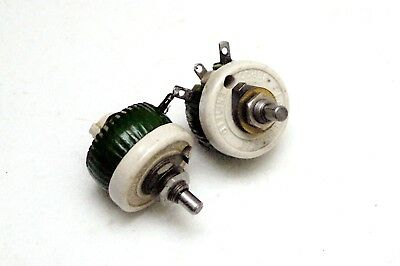 2 off 1 Ohm Bercostat Ceramic Potentiometer Variable Resistor Rheostat by Berco