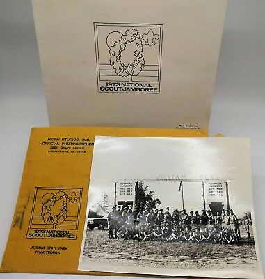 BSA 1973 National Scout Jamboree Picture - Boy Scouts of America - Vintage (C)