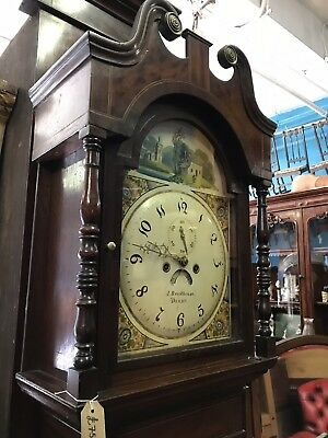 Early Victorian Beautifull Grandfather Clock