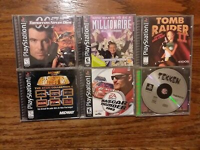 Lot Of 6 Sony PlayStation Games