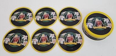 Vintage Coca-Cola Tin With Coasters