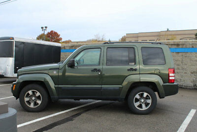 2008 Jeep Liberty 4WD 4dr Sport 4WD 4dr Sport SUV Manual Gasoline V6 Cyl Jeep Green Metallic