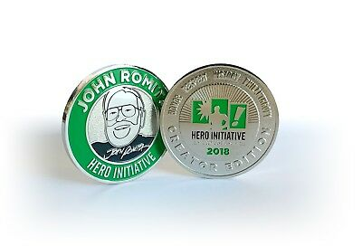 Hero Initiative Challenge Coin, John Romita Creator Edition; only 1000 made!